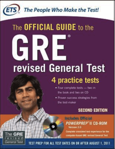 GRE and TOEFL Preparation